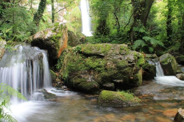 Cascadas de oneta Asturias