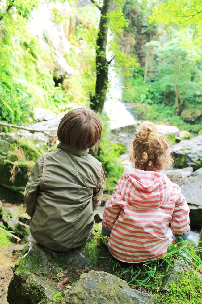 Cascadas de Oneta en villayon, Asturias