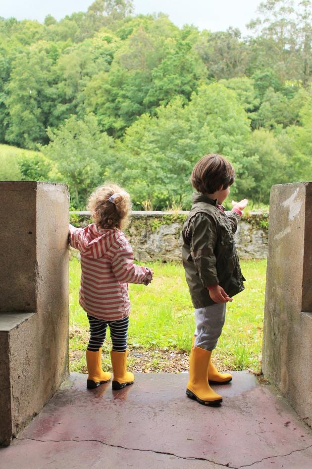 Excursión niños Cascadas de Oneta
