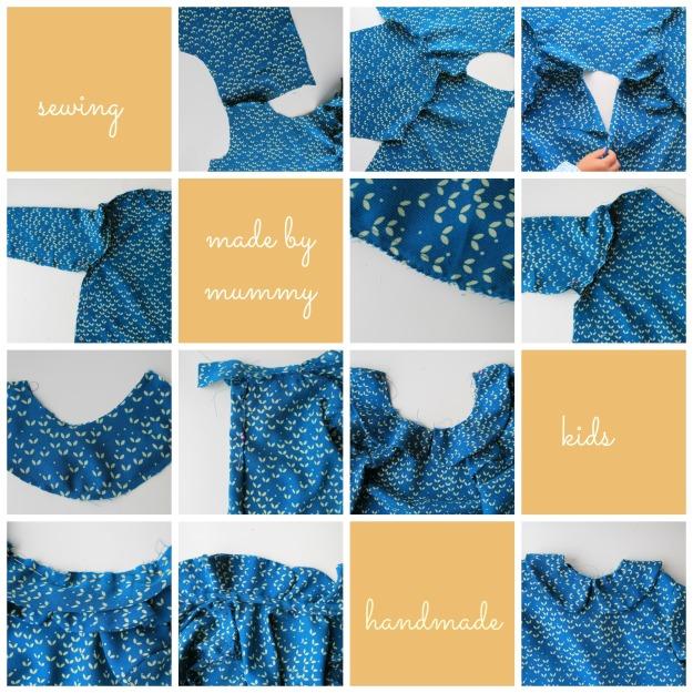 tutorial DIY blusa niña patrón
