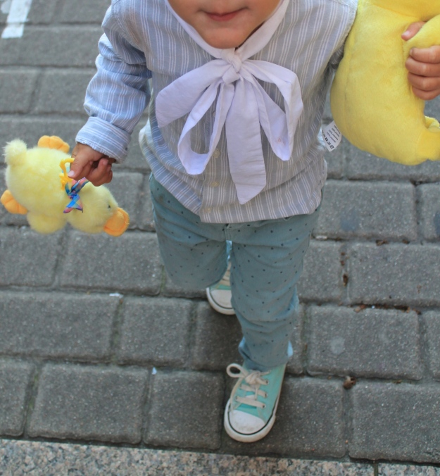 blusa de niña transformando prendas