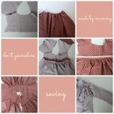 cose un vestido de niña diy