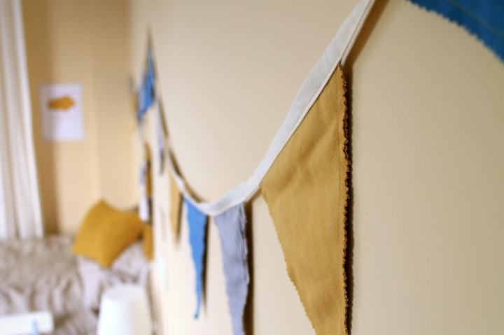 banderolas habitación infantil