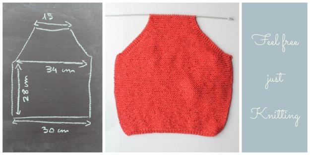 Chaqueta roja niño talla cuatro