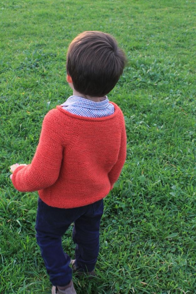 chaqueta punto niño talla cuatro años