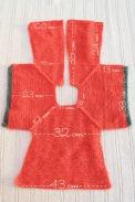 medidas patrón chaqueta punto niña talla 2