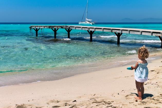 playa, illetes, formentera