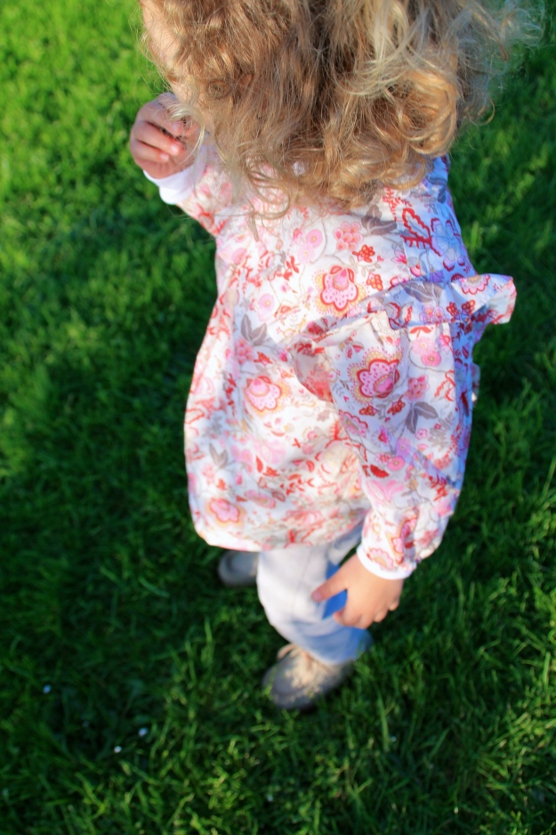 DIY blusa niña