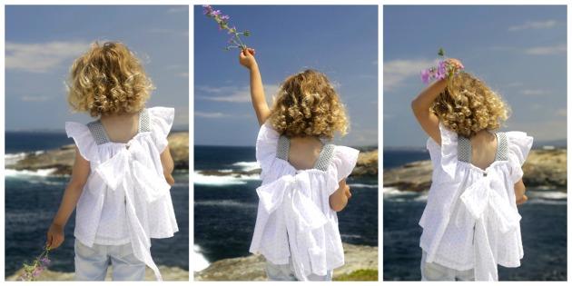 blusa Plumeti, niña, talla tres