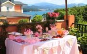 cumpleaños, gatito, rosa