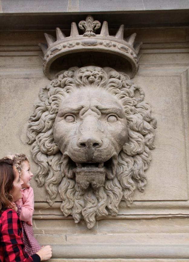 Leones del Palazzo Pitti