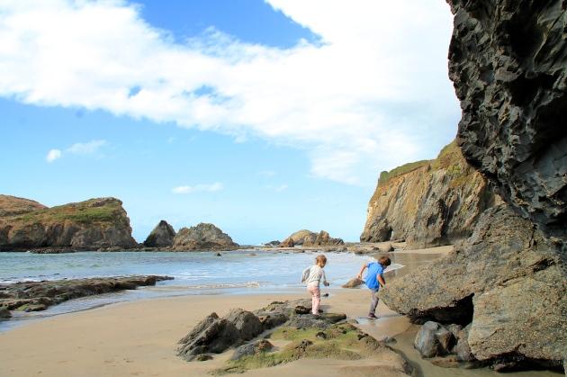 Playa porfía