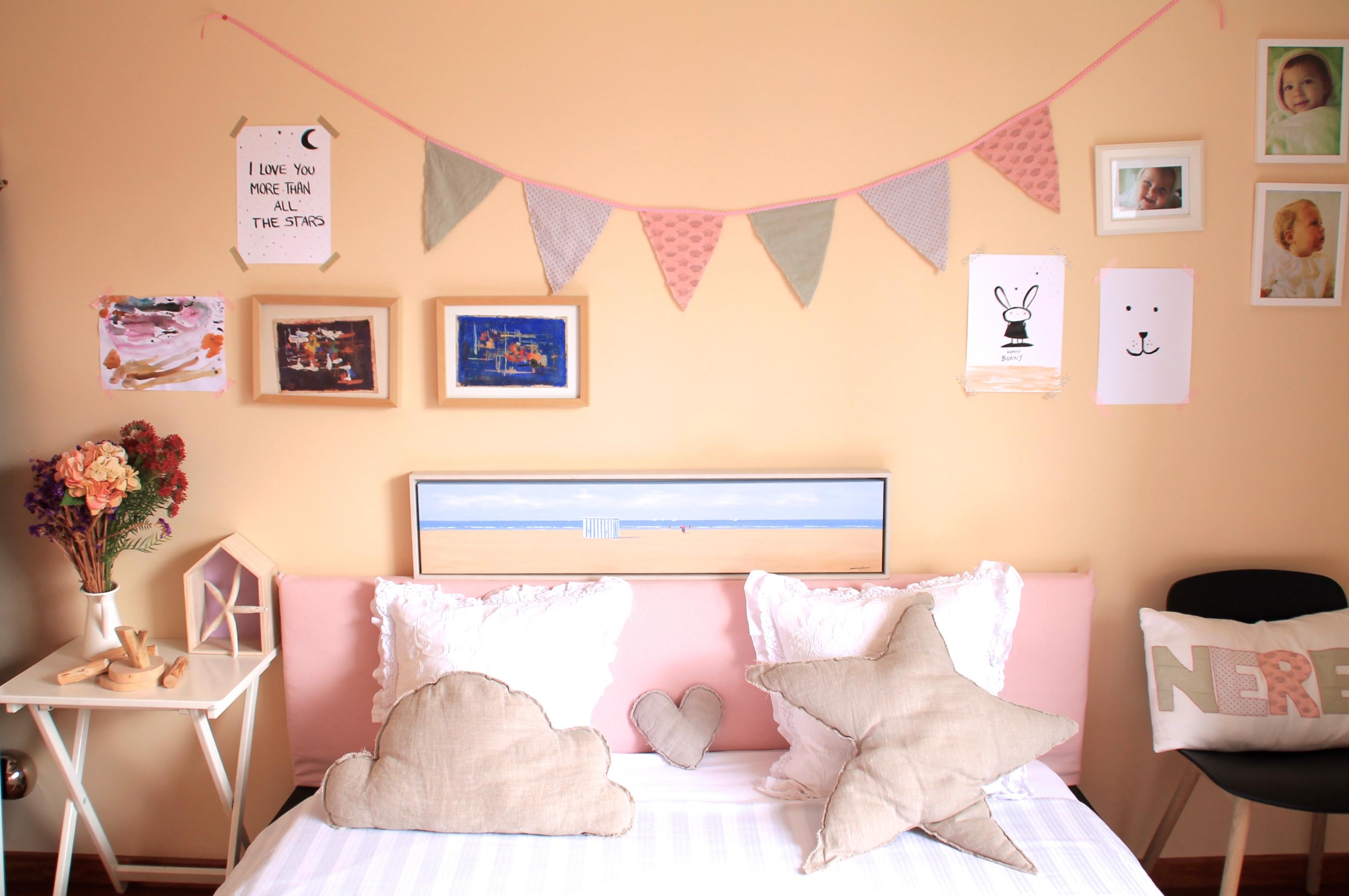 Una habitaci n infantil con elementos handmade - Habitacion infantil decoracion ...