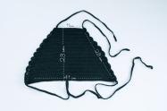 top halter crochet patrón