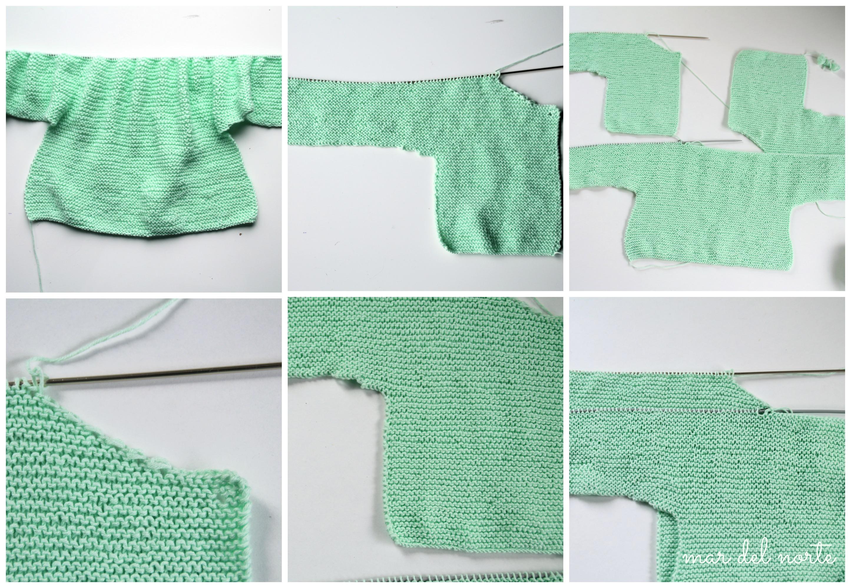 Un poco más autónomos (DIY chaqueta de punto para niña) |