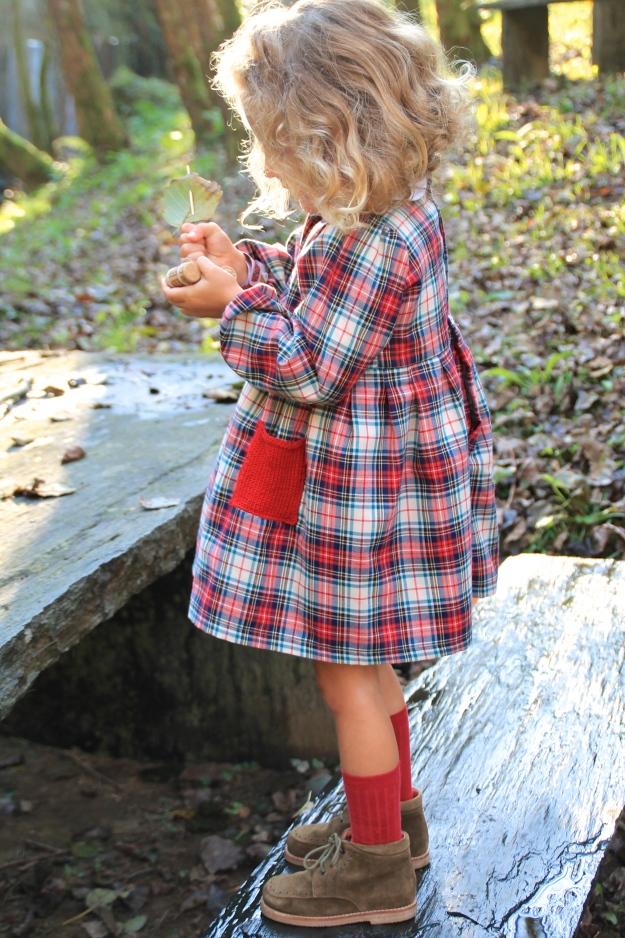 patron vestido niña