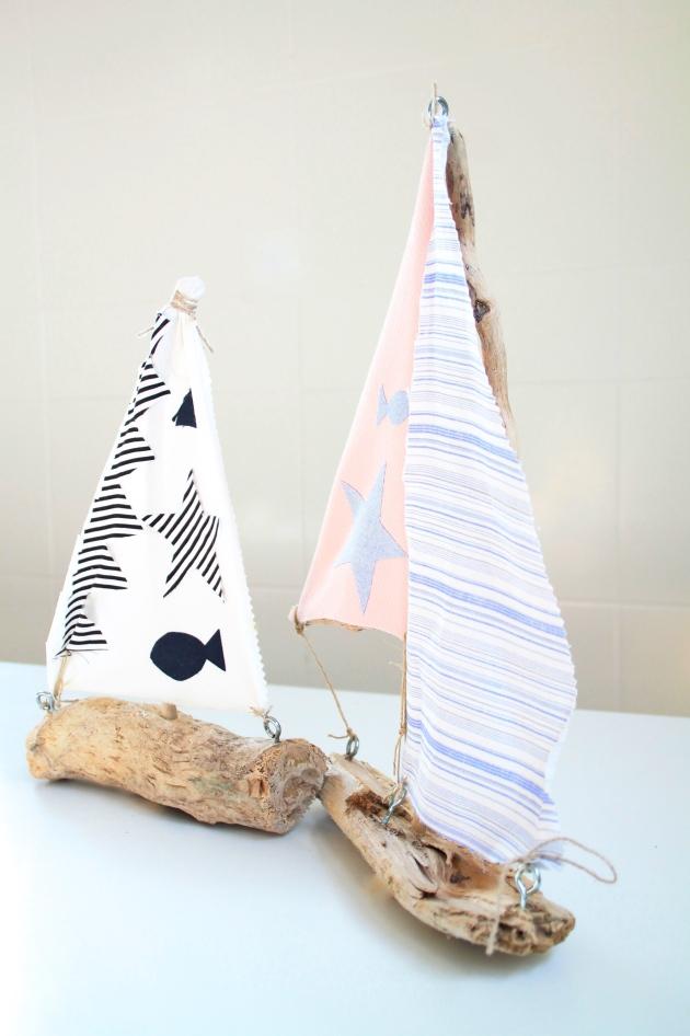 manualidades niños barco