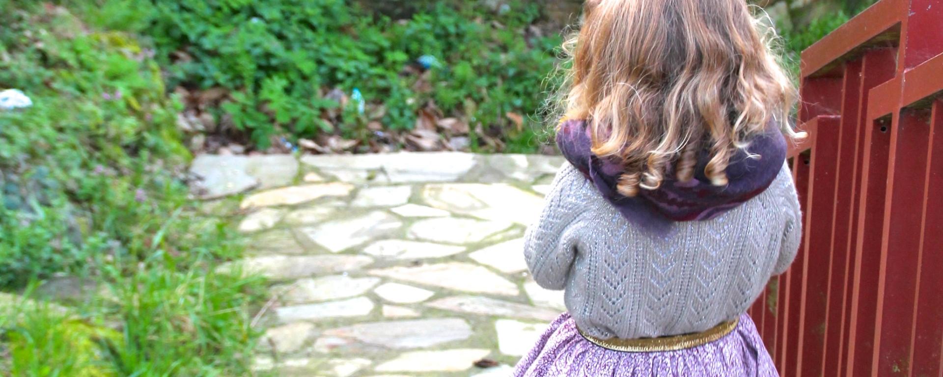 falda para niña fácil