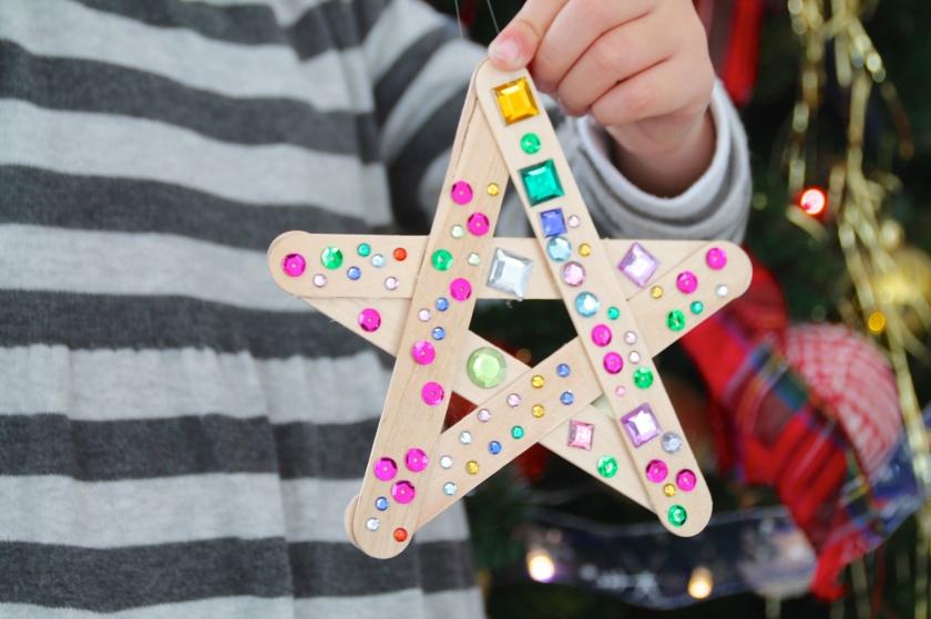 manualidades con niños navidad