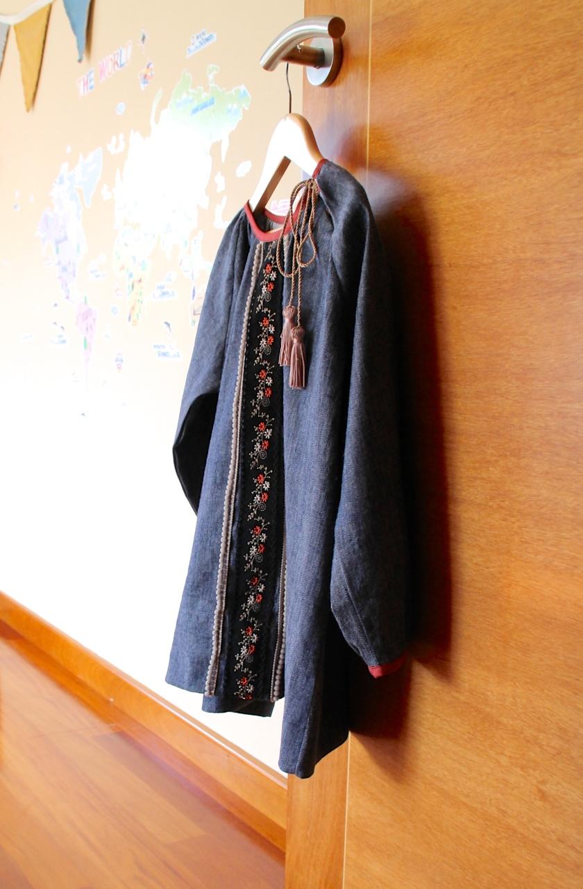 patrón vestido