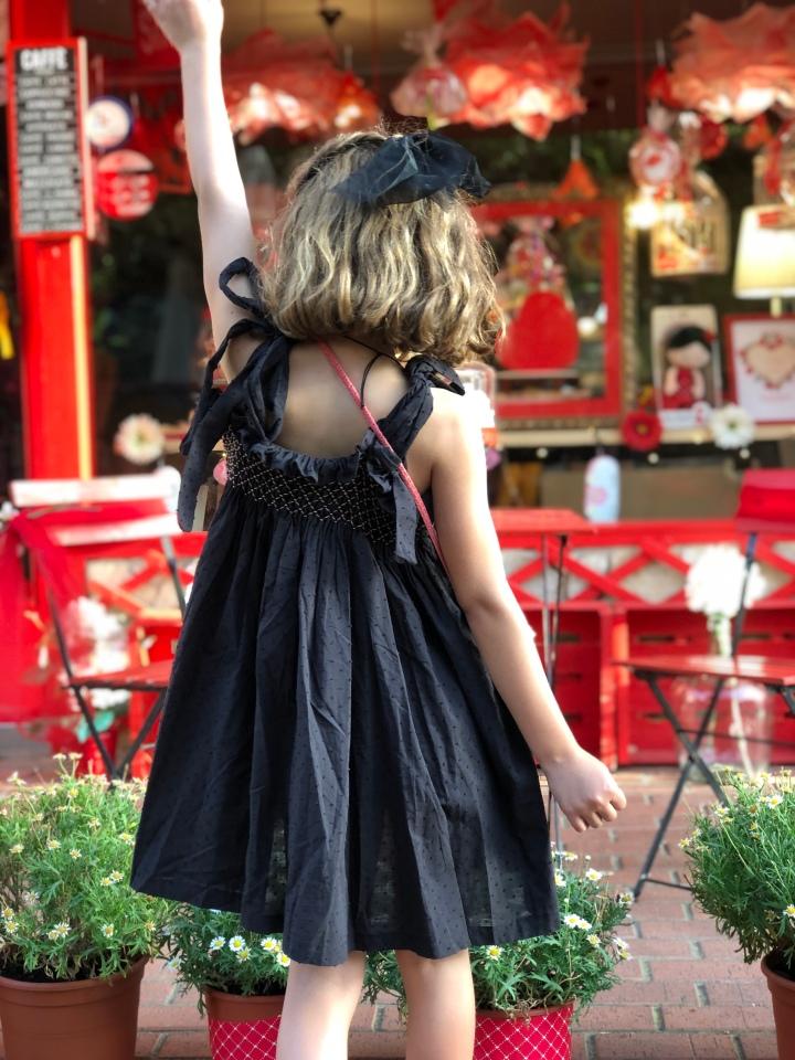 diy vestido niña smock